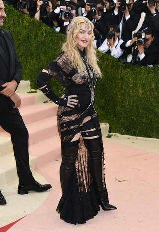 Madonna no MET (Foto: AFP / Getty)