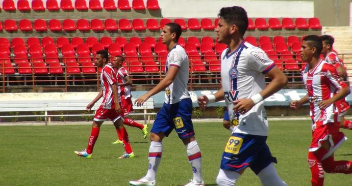 Bahia x CRB Copa do Nordeste matheus peixoto (Foto: Viviane Leão/GloboEsporte.com)