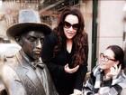Ana Carolina posta foto com Leticia Lima durante viagem por Lisboa