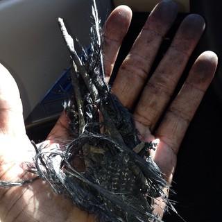 Tyrese Gibson com destroços do acidente de Paul Walker (Foto: Instagram/ Reprodução)