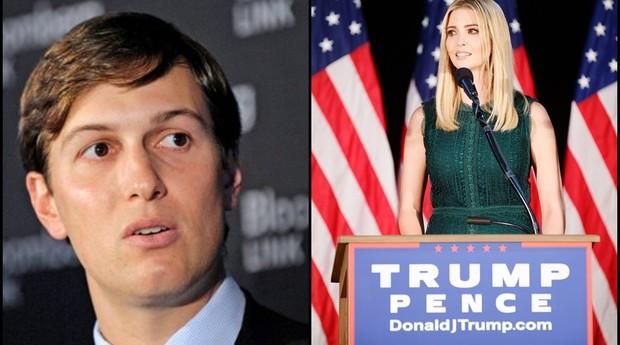 Jared Kushner e Ivanka Trump largaram empregos (Foto: Reprodução)