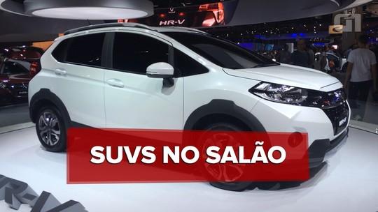 Salão do Automóvel de São Paulo 2016: guia de SUVs