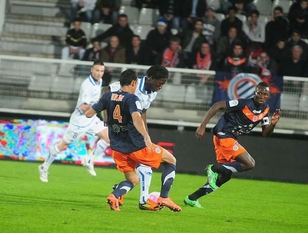 Vitorino Hilton - Montpellier (Foto: Reprodução / Site oficial do Montpellier)