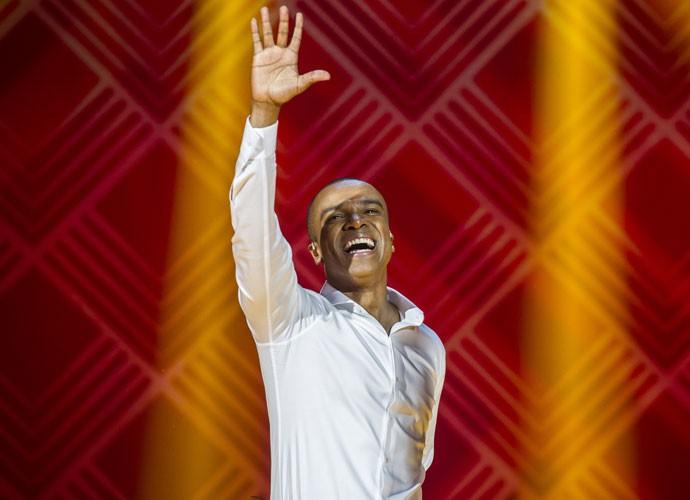 Alexandre Pires tem mais de 25 anos de carreira (Foto: Cynthia Salles/TV Globo)