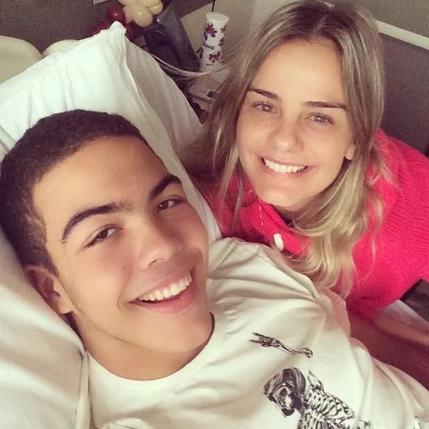 Ronald e Milene (Foto: Reprodução/Instagram)