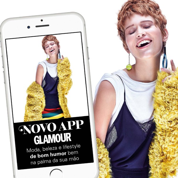 Já baixou o novo app Glamour? (Foto: Divulgação)
