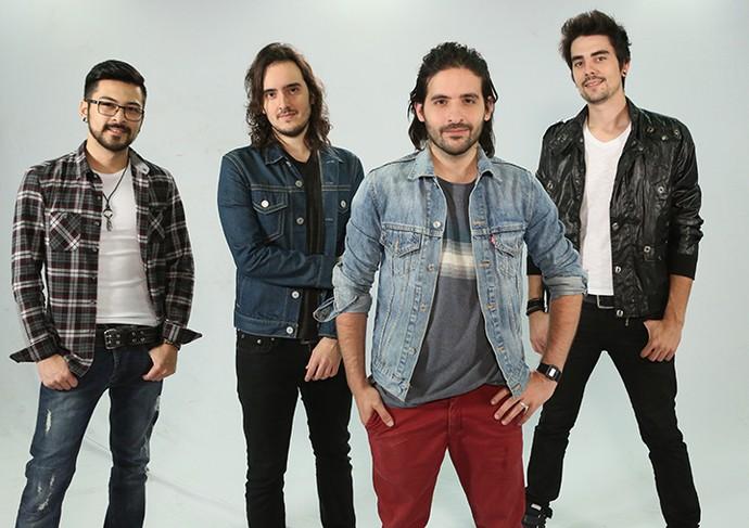 Banda Pagan John, do 'SuperStar' (Foto: Carol Caminha/Gshow)