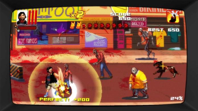 Dead Island Retro Revenge traz uma aventura mais cômica com gráficos de Super Nintendo (Foto: Reprodução/Dread Central)