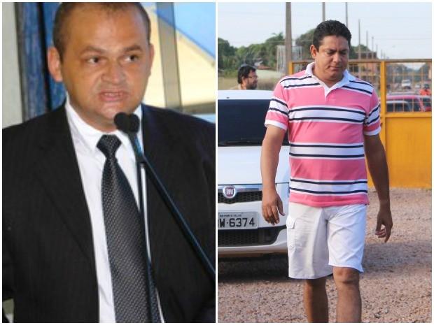 Os vereadores Eduardo Rodrigues, à esquerda, e Marcelo Reis, à direita, tiveram pedido de habeas corpus negado (Foto: Divulgação/G1)