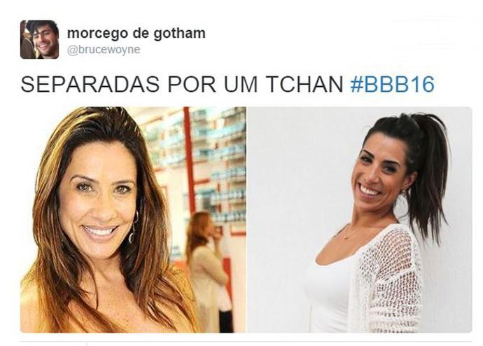 Juliana BBB 16 e Scheila Carvalho (Foto: Reprodução/Internet)