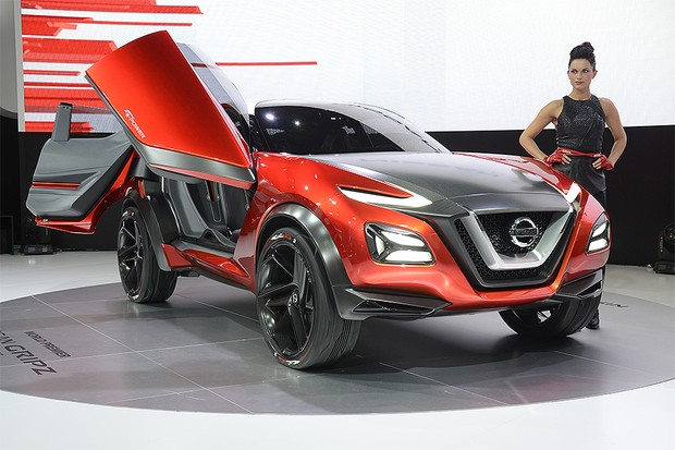 Nissan Gripz no Salão de Frankfurt 2015 (Foto: Newspress)