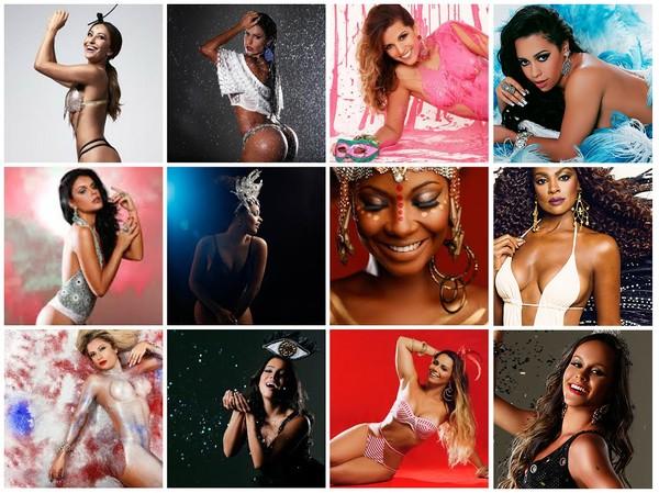 Sabrina Sato, Anitta, Vivi Araújo...  Veja os ensaios de carnaval do EGO