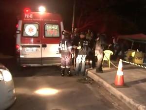 Três seguranças foram mortos em Salvador (Foto: Reprodução/TV Bahia)