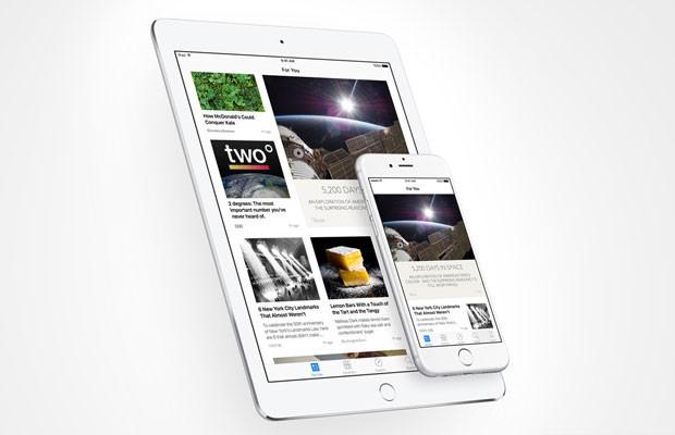 News, novo serviço de publicação de conteúdo noticioso da Apple. (Foto: Divulgação/Apple)