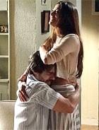 Tobias e Jacira fazem as pazes (Amor Eterno Amor/TV Globo)