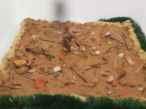 Presépio de lama pode ser conferido no museu Solar do Barão (Foto: Arquivo Pessoal/ Alex Roch)