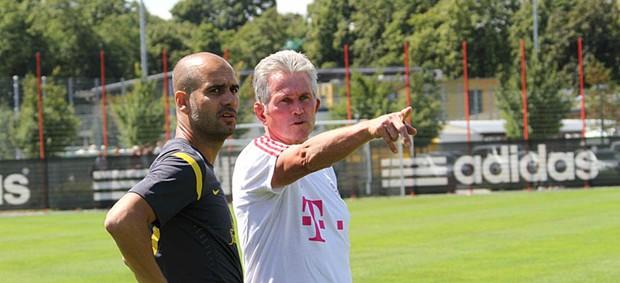 Guardiola Jupp Heynckes Bayern de Munique (Foto: Reprodução / Site Oficial)