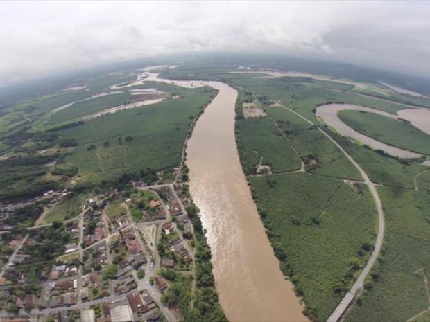 Rio Ribeira de Iguape, perto de Sete Barras, no Vale do Ribeira (Foto: Sindicato Rural do Vale do Ribeira/Divulgação)