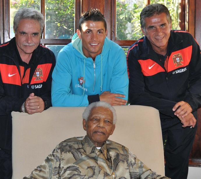 Mandela Cristiano Ronaldo portugal (Foto: Divulgação)