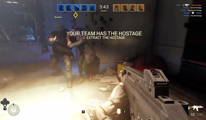 Rainbow Six Siege foi apresentado com multiplayer empolgante (Foto: Reprodução/YouTube)