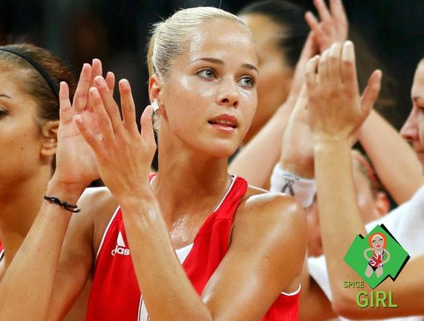 selo spice girl - basquete feminino ANtonija Misura croácia londres 2012 Gata do dia (Foto: Agência Reuters)
