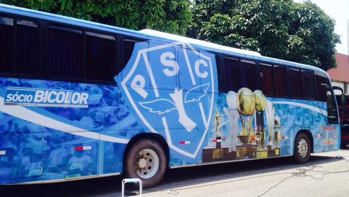 Paysandu apresentou novo ônibus para o torcedor (Foto: Ascom/Paysandu)