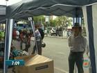 Comerciantes se instalam na calçada após interdição de shopping na PB