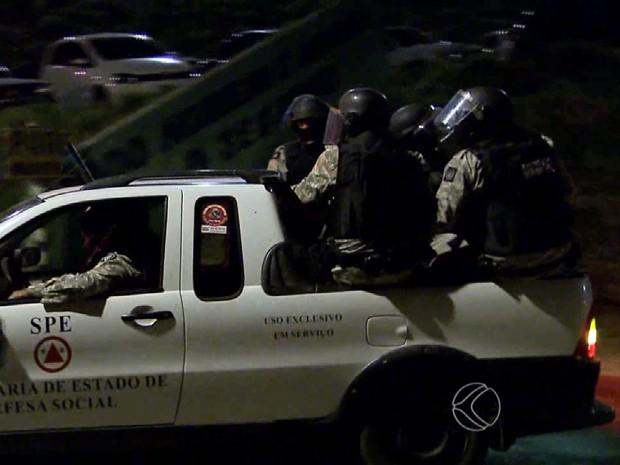 Rebelião Ceresp Juiz de Fora (Foto: Reprodução/TV Integração)