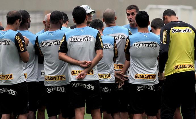 Treino botafogo (Foto: Vitor Silva / SS Press)