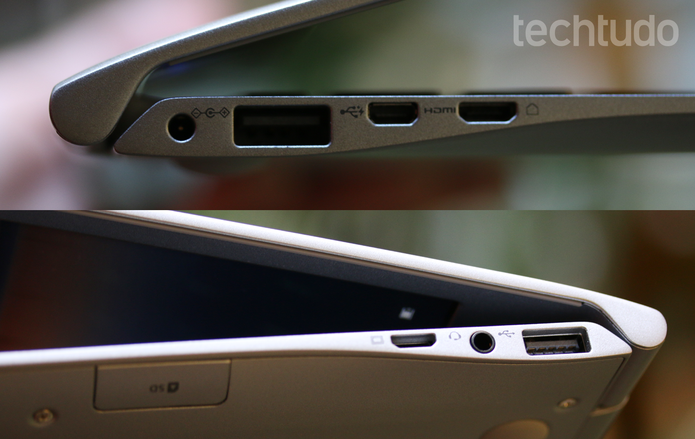 notebook Samsung Style S50 (Foto: Carolina Ochsendorf/TechTudo)