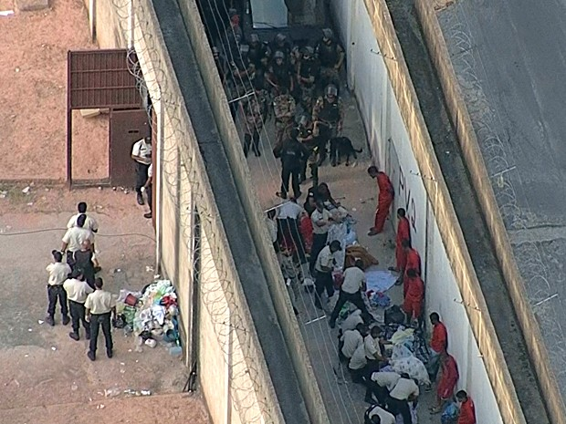 Após rebelião, visitas são retomadas na Penitenciária Nelson Hungria