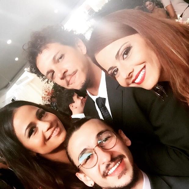 Nanda Costa, Ravel Andrade, Rafael Losso e Viviane Araújo (Foto: Instagram)