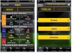 Copa do Mundo para iPhone