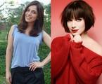 Sabrina Petraglia antes e depois | TV Globo / Pino Gomes