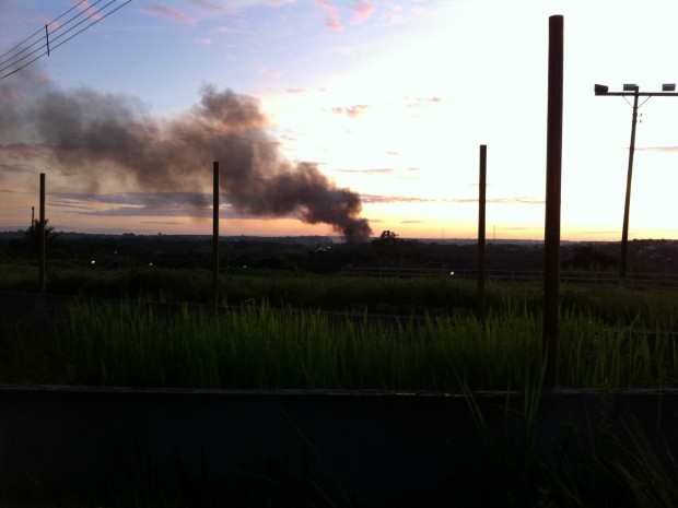 Empresa fica localizada na Zona Norte de Manaus (Foto: Gil Cavalcante/Amazon Sat)