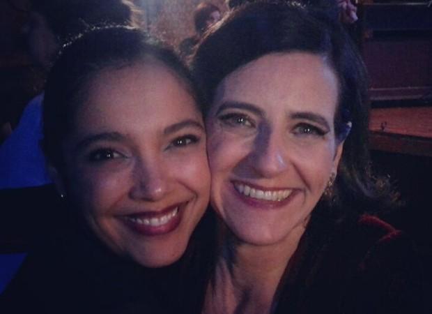 As atrizes Marcia de Oliveira e Ilana Kaplan estavam entre as convidadas (Foto: Reprodução/Instagram)