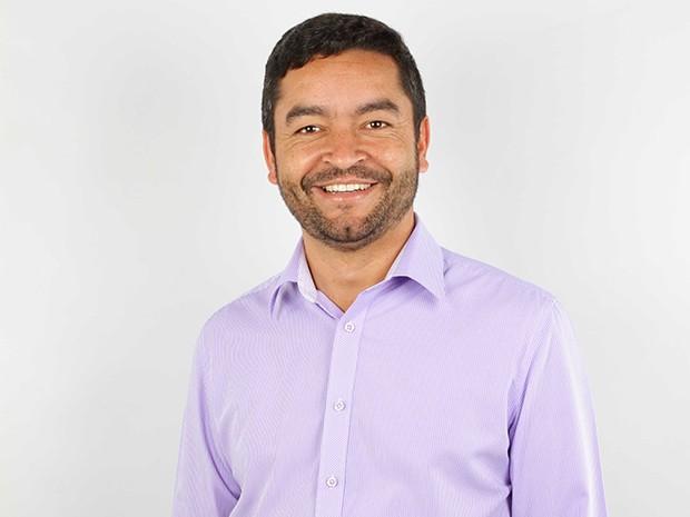 Vanderlon Oliveria Gomes foi eleito prefeito de Salesópolis com 37,59% dos votos (Foto: Reprodução/TV Diário)