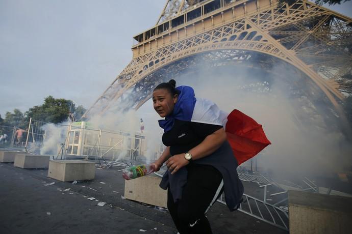 Fan Zone Euro Paris final eurocopa (Foto: Reuters)