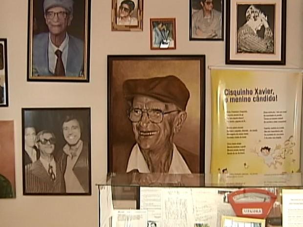 Investigação Memorial Chico Xavier Uberaba (Foto: Reprodução/TV Integração)