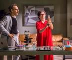 Drica Moraes em cena de 'A fórmula' com Emilio de Mello | Paulo Belote/ TV Globo