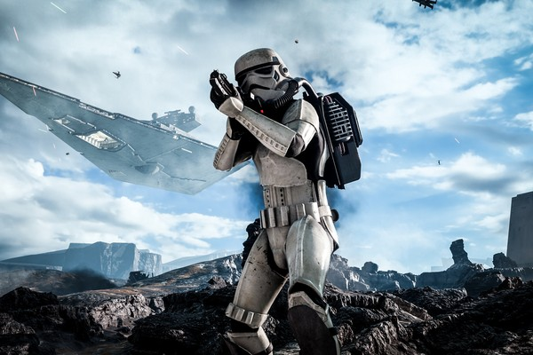 Universo live-action de Star Wars fora do cinema. Até o momento só nos resta alcançar a realidade alcançada pelos games da franquia (Foto: Divulgação/Repordução)