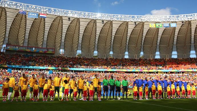 Austrália x Holanda times posados (Foto: Getty Images)