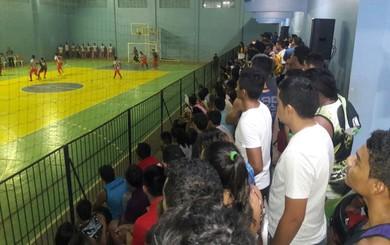 Jogos são realizados no ginásio da Uepa (Foto: Divulgação/Pró Sports)