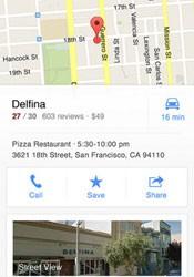 Com o recurso de geolocalização, o Google Maps encontra restaurantes, museus e pontos turísticos. (Foto: Reprodução)
