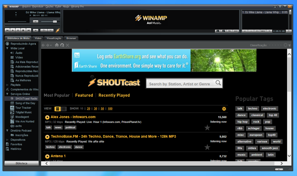 Winamp | Download | TechTudo