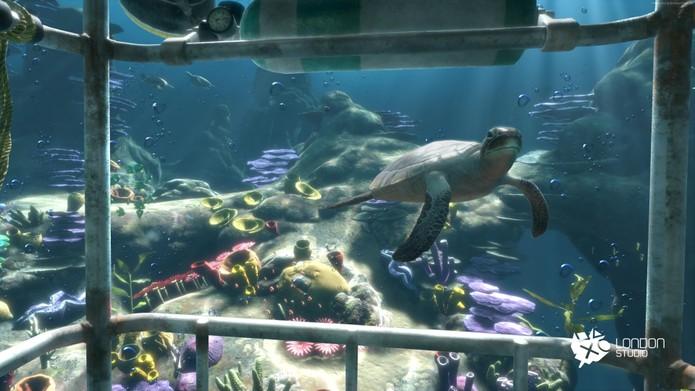 Ocean Descent é interessante, mas limitado (Foto: Divulgação/Sony)