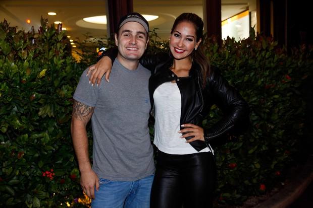 Mayra Cardi e o marido, Egil Greto (Foto: Marcos Ribas / Foto Rio News)