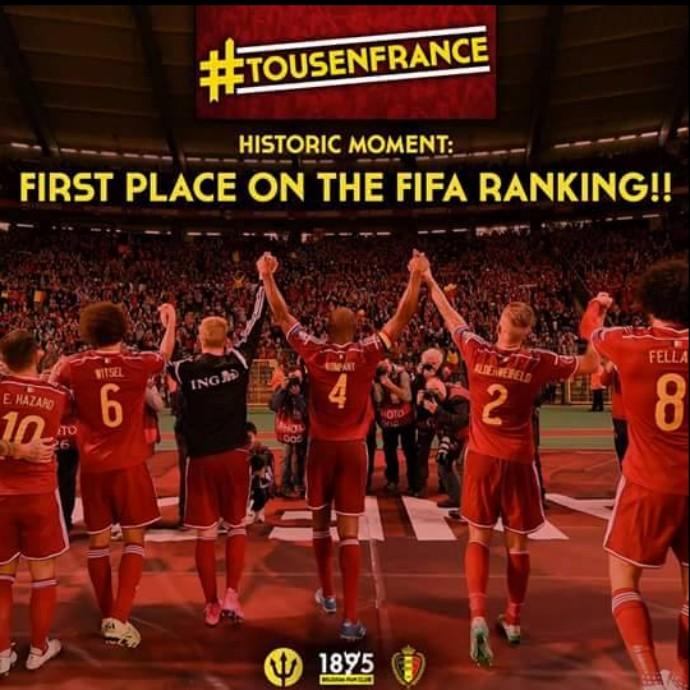 Bélgica; (Foto: Reprodução/ Facebook)