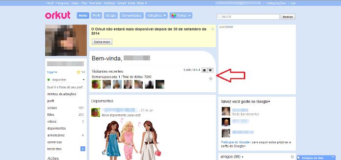 Recurso lançado em 2006 permite que usuários saibam quem visualizou o seu perfil (Foto: Reprodução/Lívia Dâmaso)
