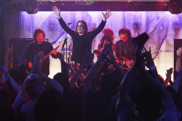 Black Sabbath em 2013 (Foto: Divulgação)